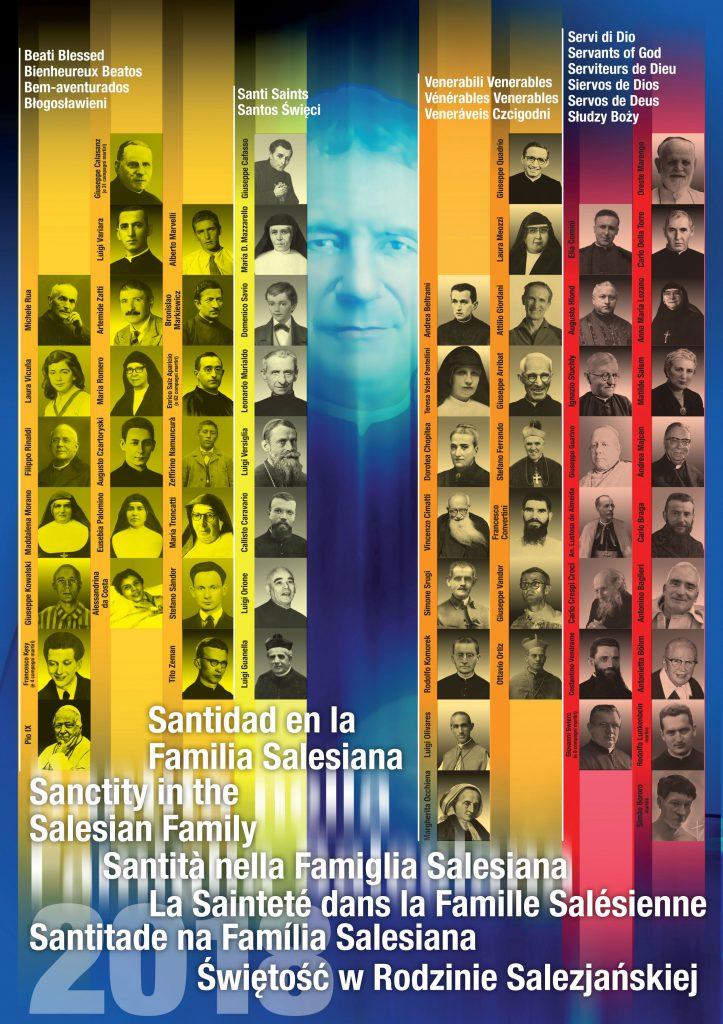 Actualizado el póster de la Santidad Salesiana...