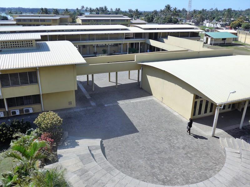Instalaciones del ISDB en Maputo (Mozambique)